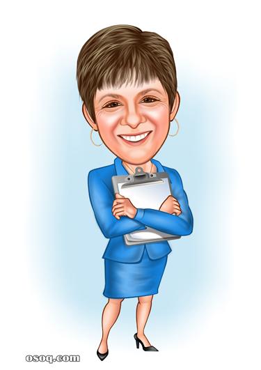 caricature artist custom cartoon portrait