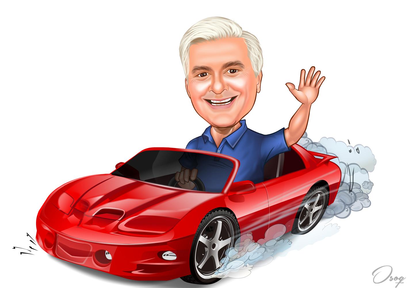 Car Caricature Osoq Com