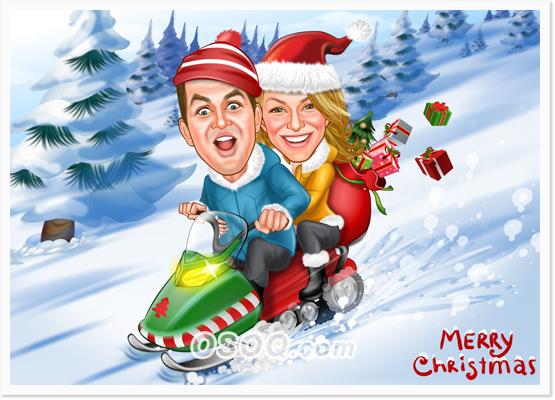 Christmas Caricatures Osoq Com