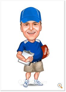 Pin cartoon football coach on pinterest