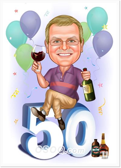 Birthday Caricatures Osoq Com