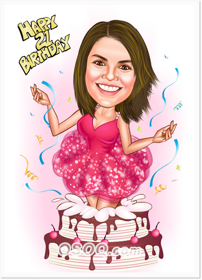 Birthday Caricatures Osoqcom