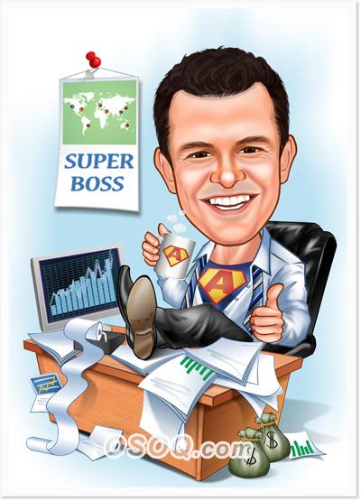 Boss Caricature Osoq Com