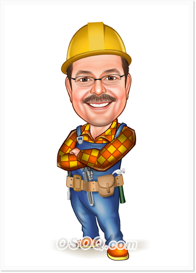 Construction Caricature Osoq Com