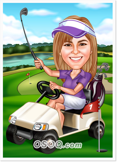 Golf Caricatures | Osoq.com Golf Hole Clip Art