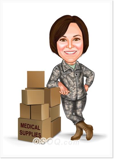 Police Military Caricature Osoq Com
