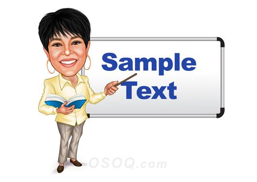 Teacher Caricature | Osoq com