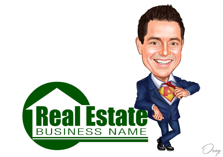 Real Estate Agent Man
